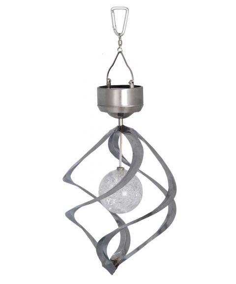 Roma uro, høyde 35 cm, Solcelle, LED