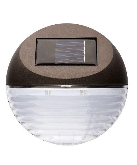 Fency vegglampe, Solcelle, LED, pakke med 3 lamper