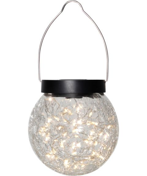 Glory hengende lanterne, Solcelle, LED