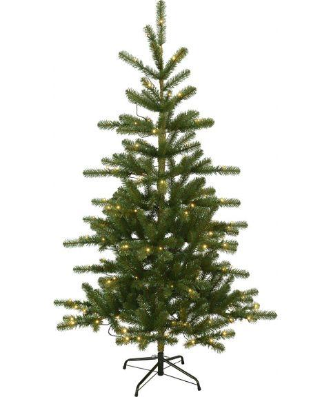Juletre 180 cm, Visby, Hengslet, Grønn, LED (x120)