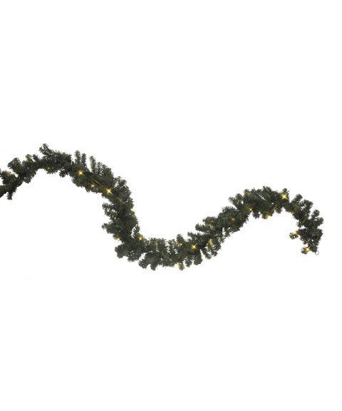 Girlander 500 cm, Ottawa, LED (x60), Grønn