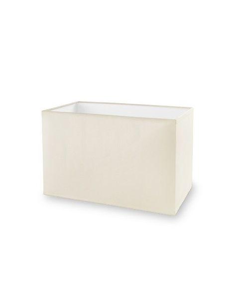 Dress Up! stoffskjerm, beige, Bredde: 28,5 cm, Dybde: 15 cm, Høyde: 17 cm