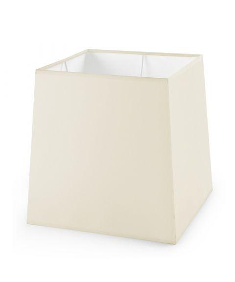 Dress Up! stoffskjerm, beige, B: 21 cm, D: 18 cm, H: 21,5 cm