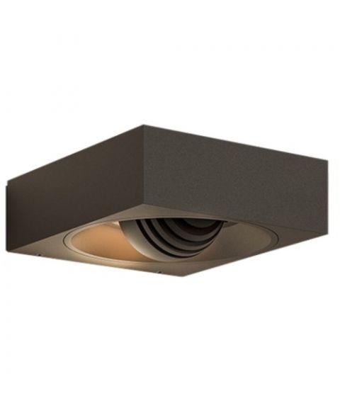 Pip vegglampe med roterbar lyskilde, dimbar LED 3000K 320lm