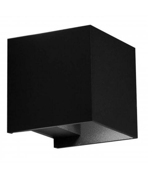Secret Down utendørs vegglampe, LED 3000K 260lm