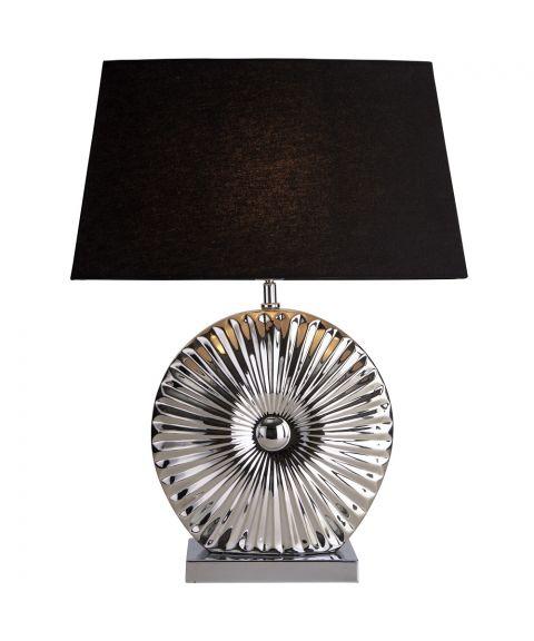 Sol bordlampe, høyde 56 cm, med lampeskjerm