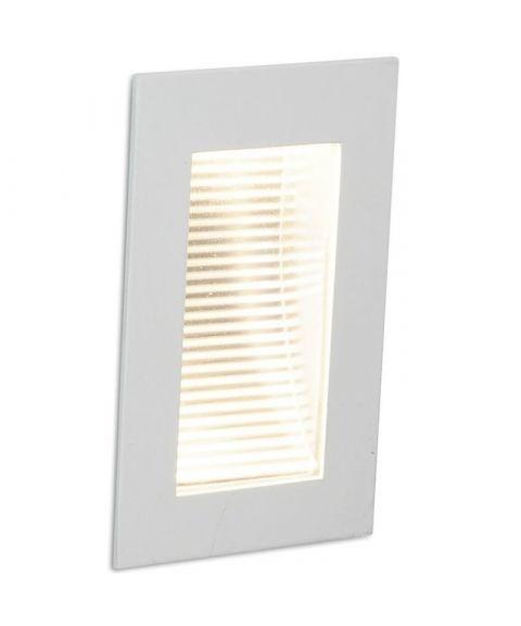 Step innfelt vegglampe 3,5W LED, 11 x 7 cm