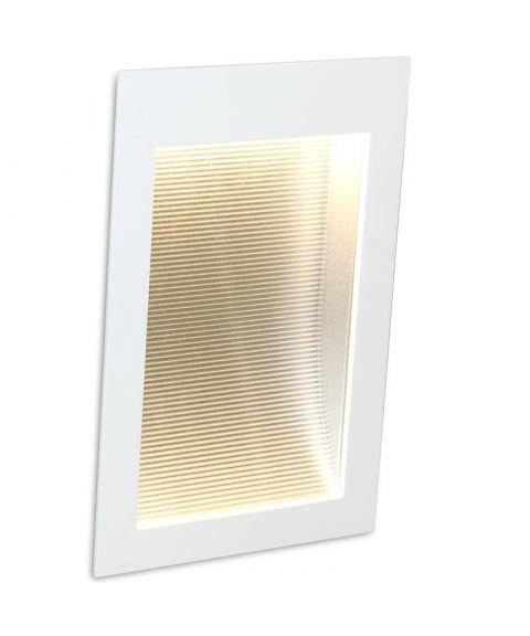 Step innfelt vegglampe 7W LED, 20 x 13,5 cm