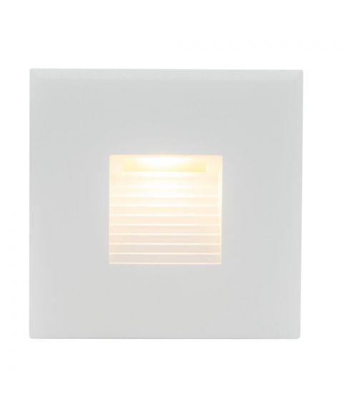 STP 85 Innfelt vegglampe LED for standard veggboks (u/driver)