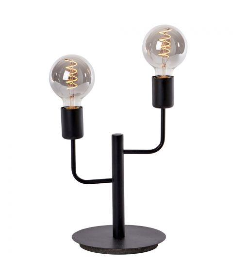 Tanum bordlampe, høyde 36 cm, Sort