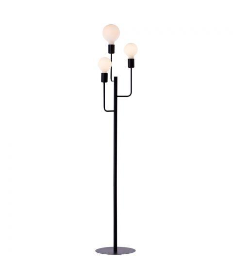 Tanum gulvlampe, høyde 144 cm, Sort