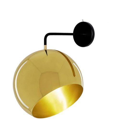 Tilt Globe Wall Brass 1.1.0for fast montering