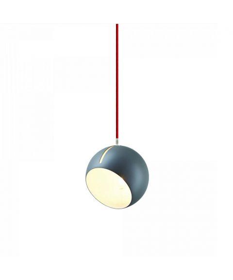 Tilt Globe takpendel, diameter 20 cm, Grå