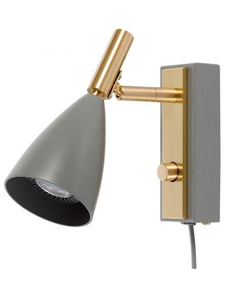 Frank V5159 vegglampe, LED med dimmer