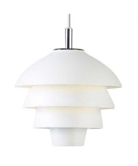 Valencia T1229 vinduspendel, med LED-pære, diameter 18 cm, Matt hvit
