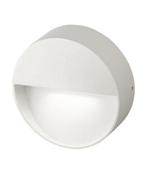 Vigo utendørs vegglampe, diameter 11 cm, 4W LED 3000K 485lm