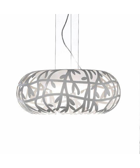 Maggio takpendel, dimbar 17W LED, diameter 50 cm, Hvit (restlager)