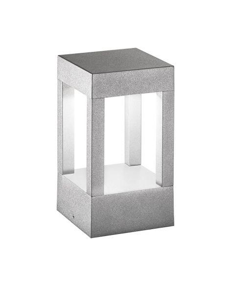 York 200 vegglampe/hagelampe, høyde 20 cm, 6W LED 3000K 470lm, Aluminium