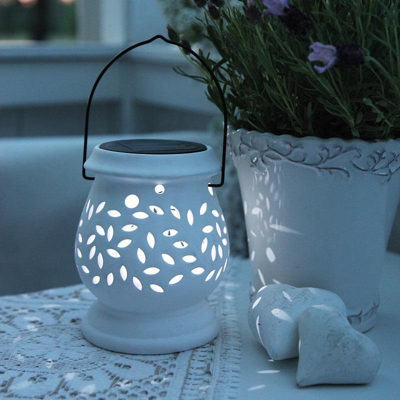 Solcellelamper innendørs