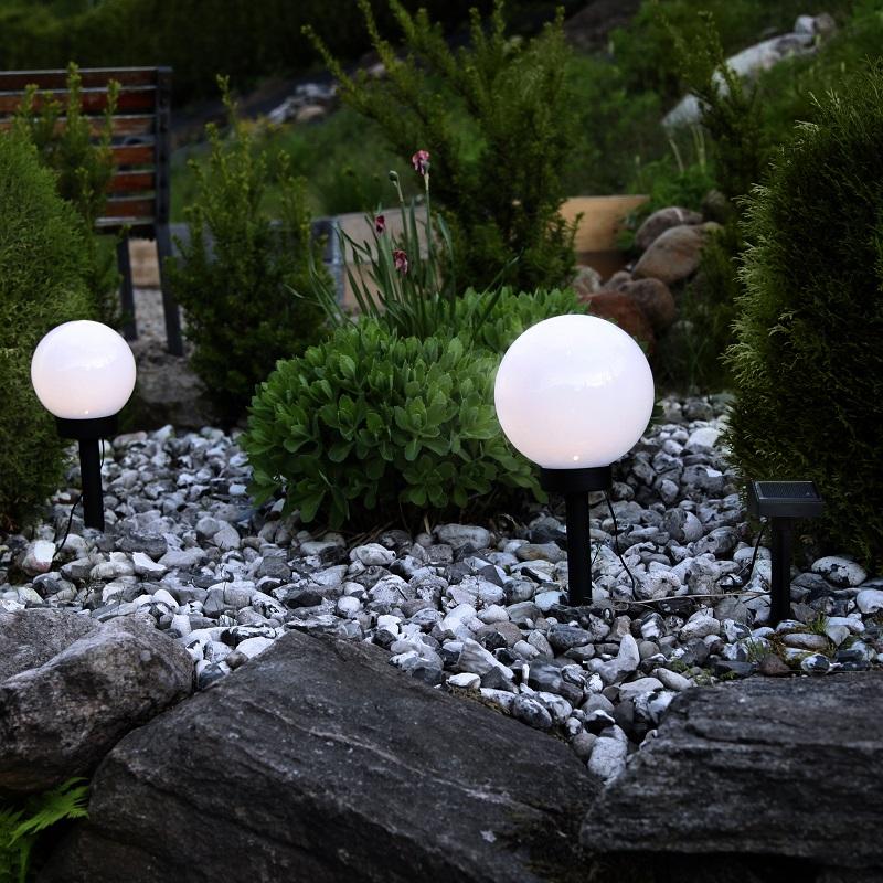 Solcellelamper til hagen